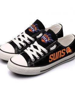 Phoenix Suns Fans Low Top Canvas Sneakers