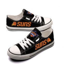 Phoenix Suns Fans Low Top Canvas Sneakers