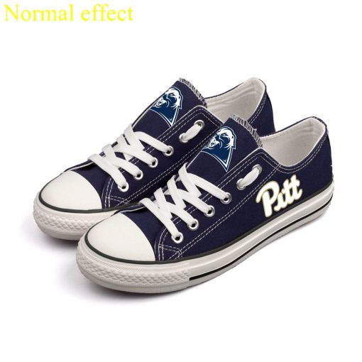 Pittsburgh Panthers Limited Luminous Low Top Canvas Sneakers
