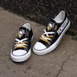 Pittsburgh Penguins Limited Low Top Canvas Sneakers