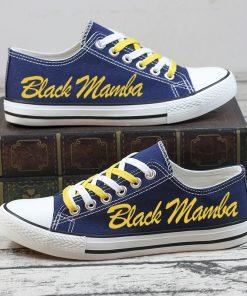 Kobe Bryant Black Mamba 24 Commemorate Canvas Shoes Sport