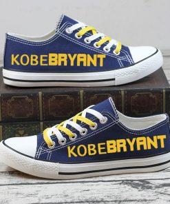 Kobe Bryant Black Mamba 24 Commemorate Canvas Sneakers