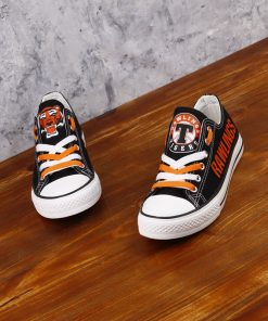 Rawlings Tigers Limited High School Students Low Top Canvas Sneakers