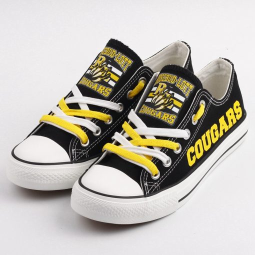 Rosebud-Lott Cougars Limited High School Students Low Top Canvas Sneakers