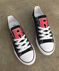 Rossview Hawks Limited High School Students Low Top Canvas Sneakers