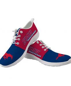 SMU Mustangs Customize Low Top Sneakers College Students