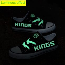 Sacramento Kings Limited Luminous Low Top Canvas Sneakers