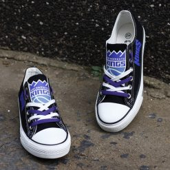 Sacramento Kings Low Top Canvas Shoes Sport