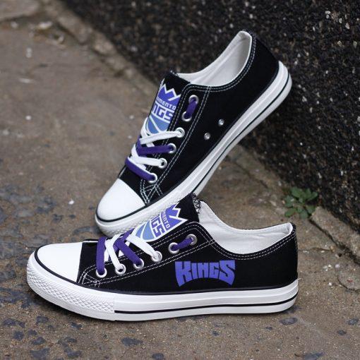 Sacramento Kings Low Top Canvas Shoes Sport