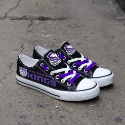Sacramento Kings Limited Low Top Canvas Sneakers