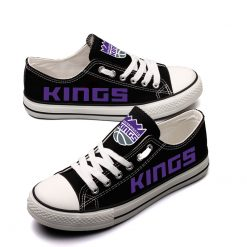Sacramento Kings Low Top Canvas Sneakers