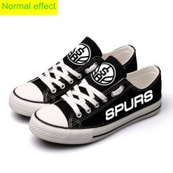 San Antonio Spurs Limited Luminous Low Top Canvas Sneakers