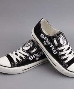 San Antonio Spurs Low Top Canvas Shoes Sport