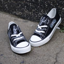 San Antonio Spurs Low Top Canvas Sneakers