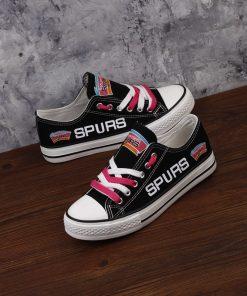 San Antonio Spurs Fans Low Top Canvas Shoes Sport