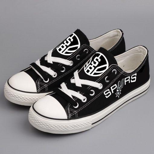 San Antonio Spurs Limited Fans Low Top Canvas Shoes Sport