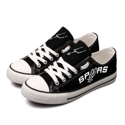 San Antonio Spurs Fans Low Top Canvas Sneakers