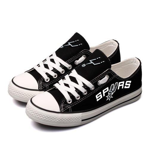 San Antonio Spurs Fans Low Top Canvas Sneakers