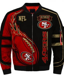 San Francisco 49ers Fans Bomber Jacket Men Women