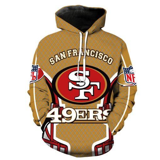 San Francisco 49ers Football Fans Hoodies