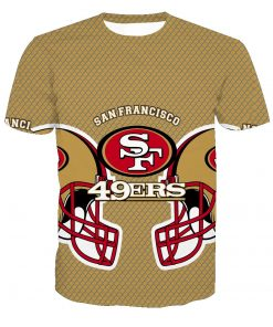 San Francisco 49ers Football Fans Casual T-shirt