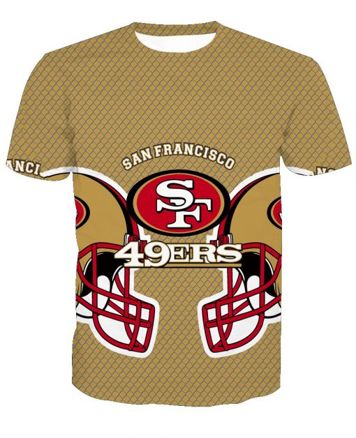 San Francisco 49ers Football Fans Casual T-shirt