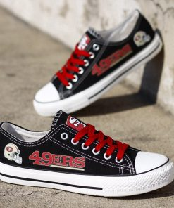 San Francisco 49ers Limited Low Top Canvas Sneakers