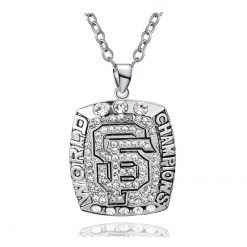 San Francisco Giants Championship Necklace