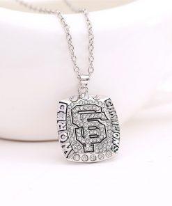 San Francisco Giants Championship Necklace