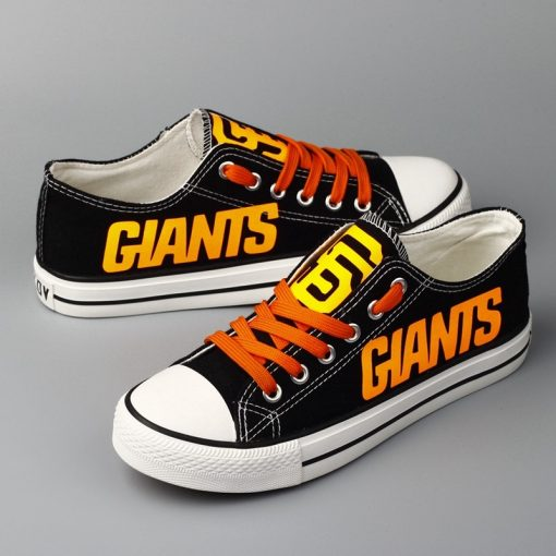 San Francisco Giants Limited Low Top Canvas Sneakers