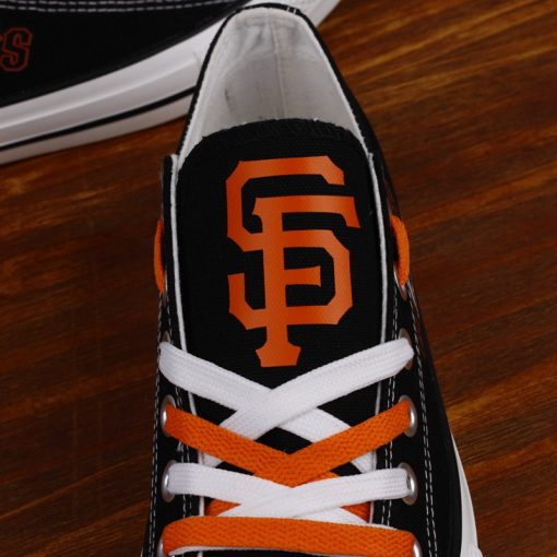 San Francisco Giants Limited Low Top Canvas Shoes Sport