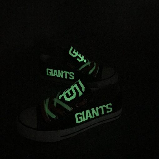 San Francisco Giants Limited Luminous Low Top Canvas Sneakers