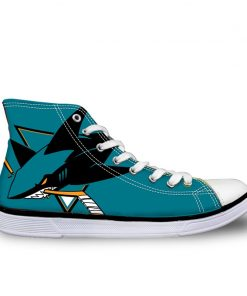 San Jose Sharks 3D Casual Canvas Shoes Sport