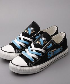San Jose Sharks Limited Low Top Canvas Sneakers