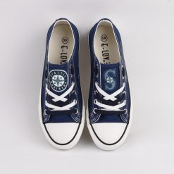 Seattle Mariners Low Top Canvas Shoes Sport