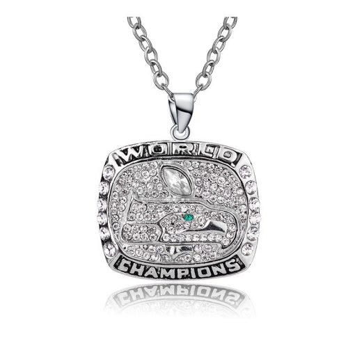 Seattle Seahawks Championship Necklace