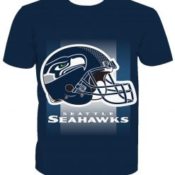 Seattle Seahawks Football Fans Casual T-Shirt