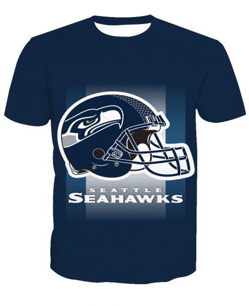 Seattle Seahawks Football Fans Casual T-Shirt