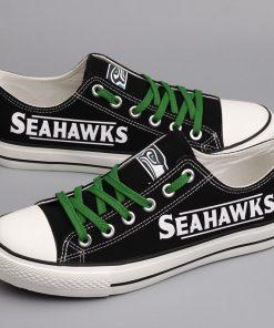 Seattle Seahawks Limited Low Top Canvas Shoe Sport