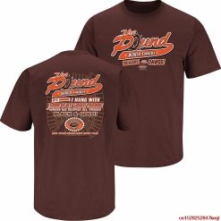 Smack FGHFG Cleveland Football Fans The Pound Brown TFGHFG Shirt SFGHFG 5x Unisex men women t