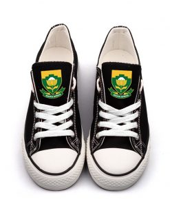 South Africa National Team Low Top Canvas Sneakers