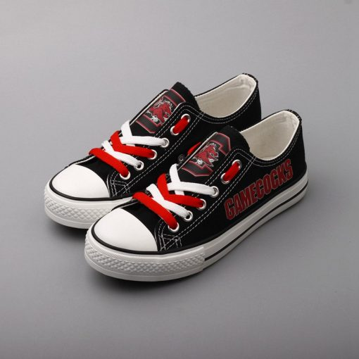 SouthCarolinaGamecocks Limited Low Top Canvas Shoes Sport