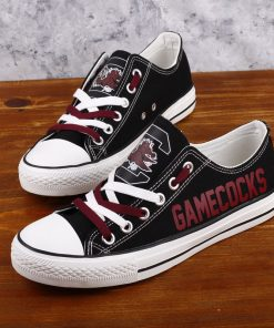 SouthCarolinaGamecocks Limited Low Top Canvas Sneakers