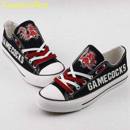South Carolina Gamecocks Limited Luminous Low Top Canvas Sneakers