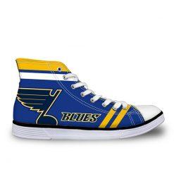 St. Louis Blues 3D Casual Canvas Shoes Sport