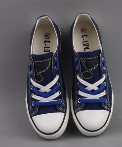 St. Louis Blues Limited Low Top Canvas Shoes Sport