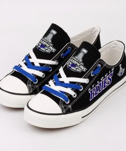 St. Louis Blues Low Top Canvas Shoes Sport