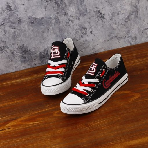 St. Louis Cardinals Limited Low Top Canvas Sneakers