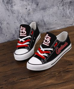 St. Louis Cardinals Limited Luminous Low Top Canvas Sneakers