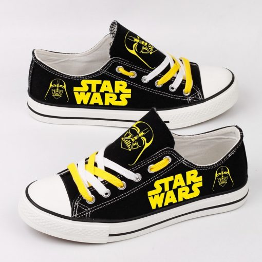Star Wars Darth Vader Casual Canvas Low Top Adults Sneakers